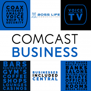 Comcast Business Central Internet, Voice, TV, and Security Packages