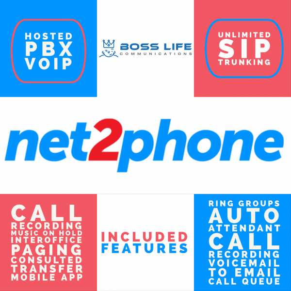 Net2Phone Hosted PBX (VoIP) and SIP Trunking