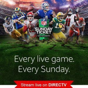 2020 NFL Sunday Ticket - Sign Up for Directv